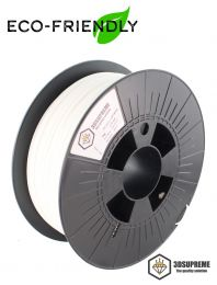 3DSUPREME - Recycled PLA - Eco Off White- 1.75mm - 1kg