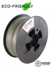 3DSUPREME - Recycled PLA - Eco Silver - 1.75mm - 1kg