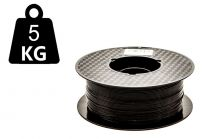 GIGANT 5kg - 3DE Premium PLA - Pirate Black - 2.85mm