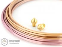 3DSUPREME - Creality CR10S PRO - Brass - 1.75mm (Pick a Size)