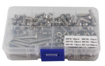 SpiderScrew Kit with Nuts - M4 - 80 pcs